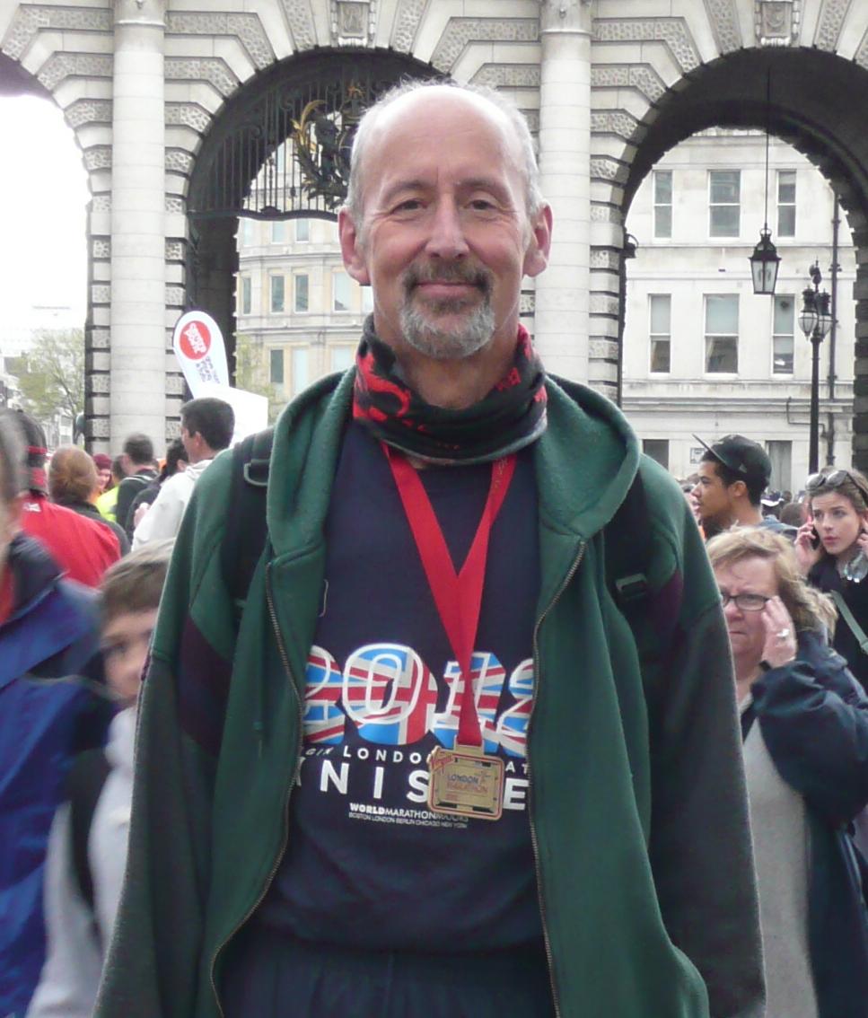 Nigel Hewston London Marathon