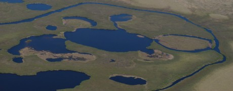 View from plane between Meino and Anadyr c Christoph Zockler