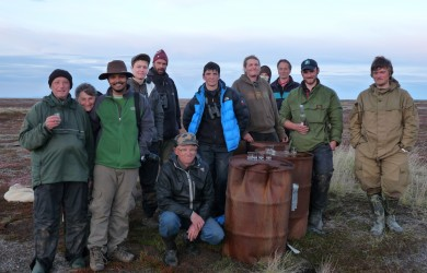 The 2012 Chukotka expedition team