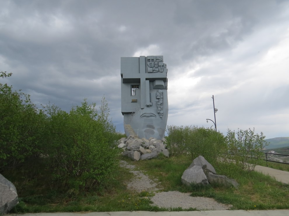 Monument to those who lost their lives in the Gulags. Photo by Nigel Clark.