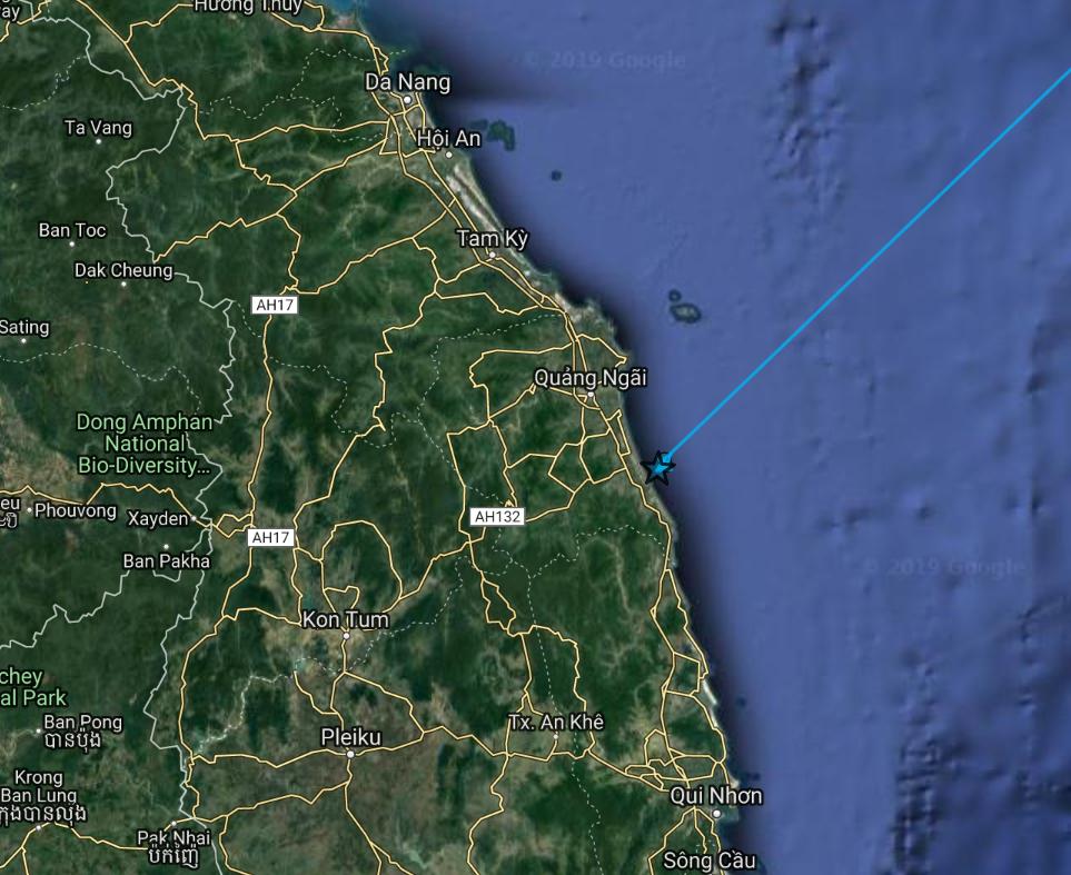 EH track 5 Nov 2019 Vietnam coast